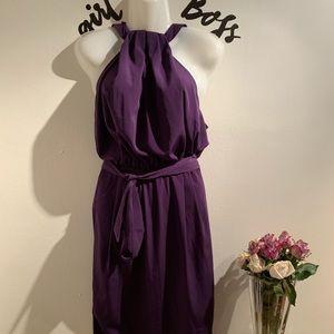 Asos purple dress
